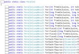 Parallel Series: La clase estáticaParallel